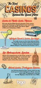 Must-visit casinos from the Bond movies