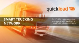 QuickLoad: The Smart Trucking Network for Innovative Shipping Companies